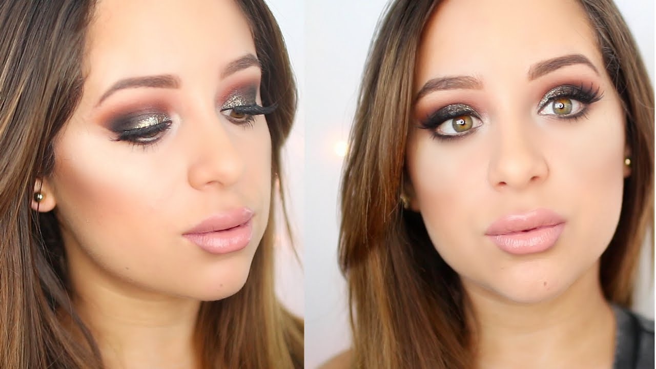 Glam fall makeup tutorial new mufe ultra hd foundation routine glam fall makeup tutorial new mufe ultra hd foundation routine youtube baditri Image collections