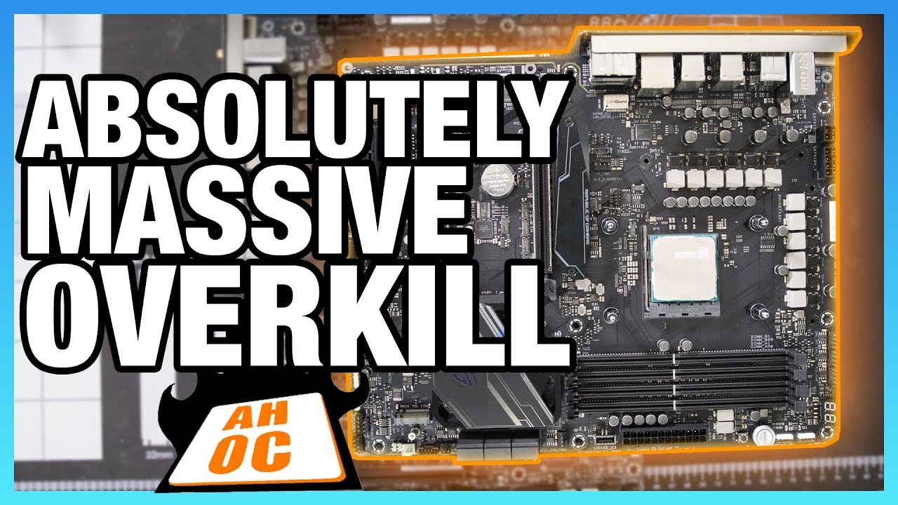 Massive Overkill Asus Crosshair Vii Hero X470 Motherboard Review