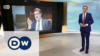 РФ и Запад  острое интервью с Константином Косачевым   DW Новости (13 04 2017)
