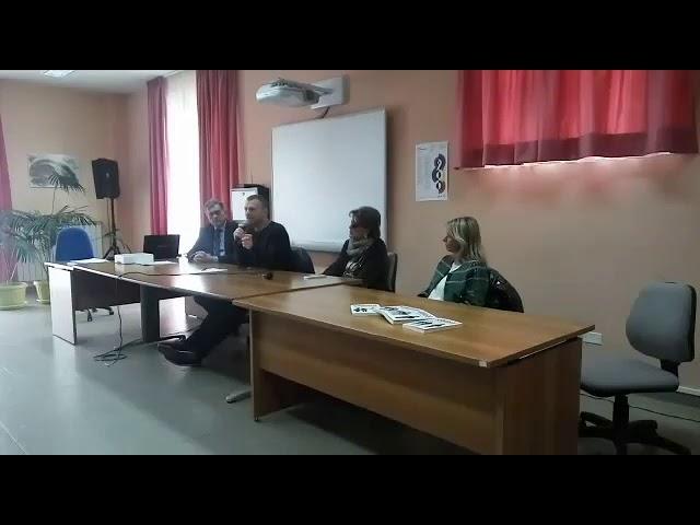 CONFERENZA AL LICEO P.P.PASOLINI DI POTENZA
