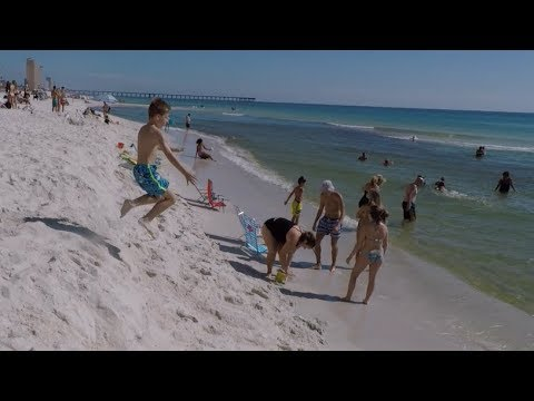 Panama City Beach: Attacked by Wild Fish Underwater