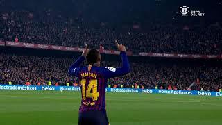 Todos los goles de 1/2 Ida Copa del Rey 2018/2019