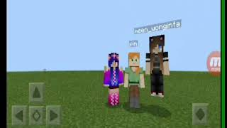 Minecrafe creative #1 Happy mm channel😂😂