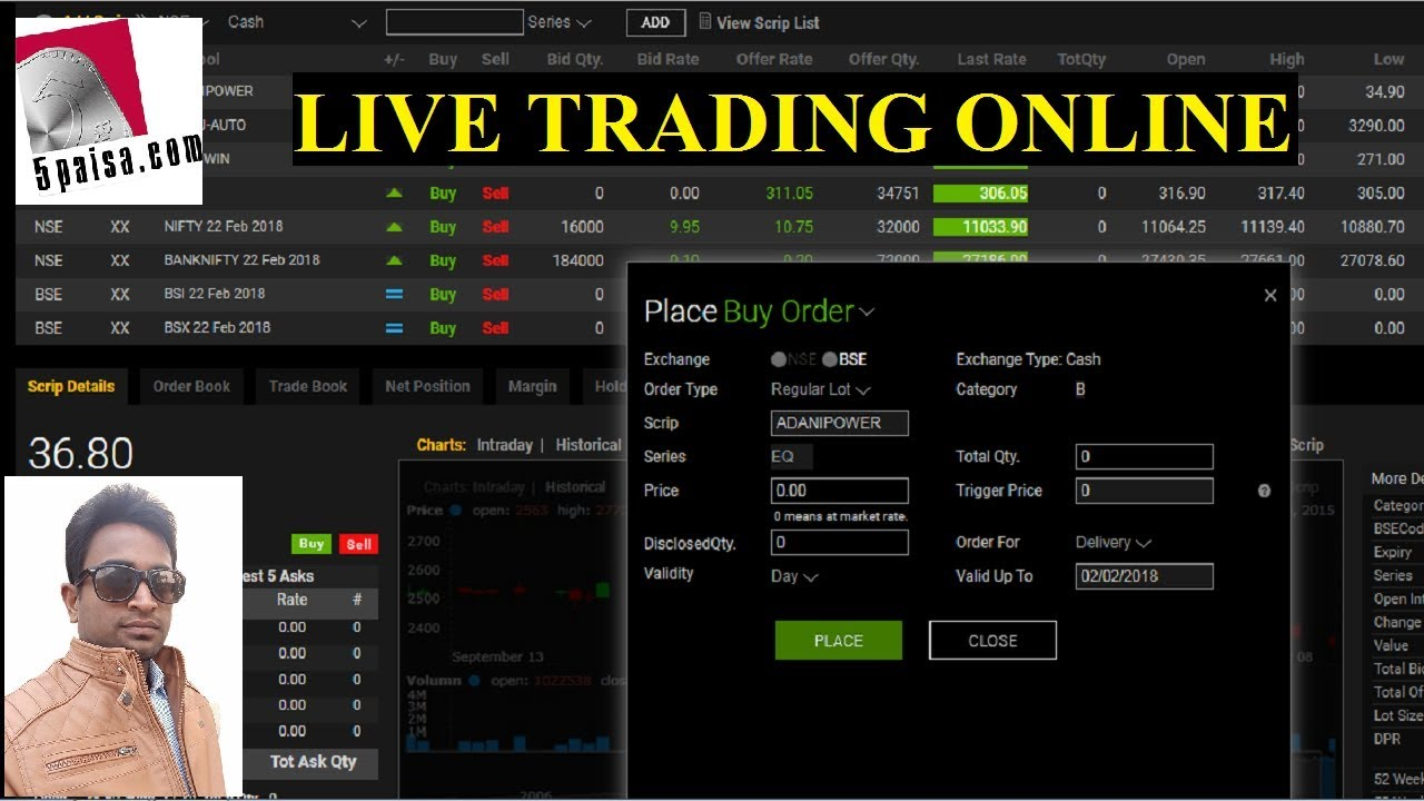 5paisa Trading Live Online Demo Latest 2018