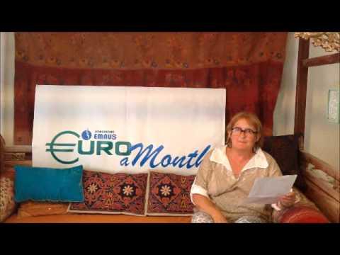 Euro a Month's  ambassador Janine Duvitski