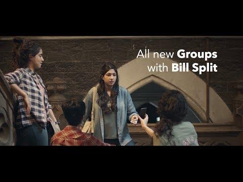 Hike - Bill Split on Groups