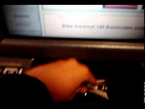 Ec Automat Einzahlung Sparkasse Youtube