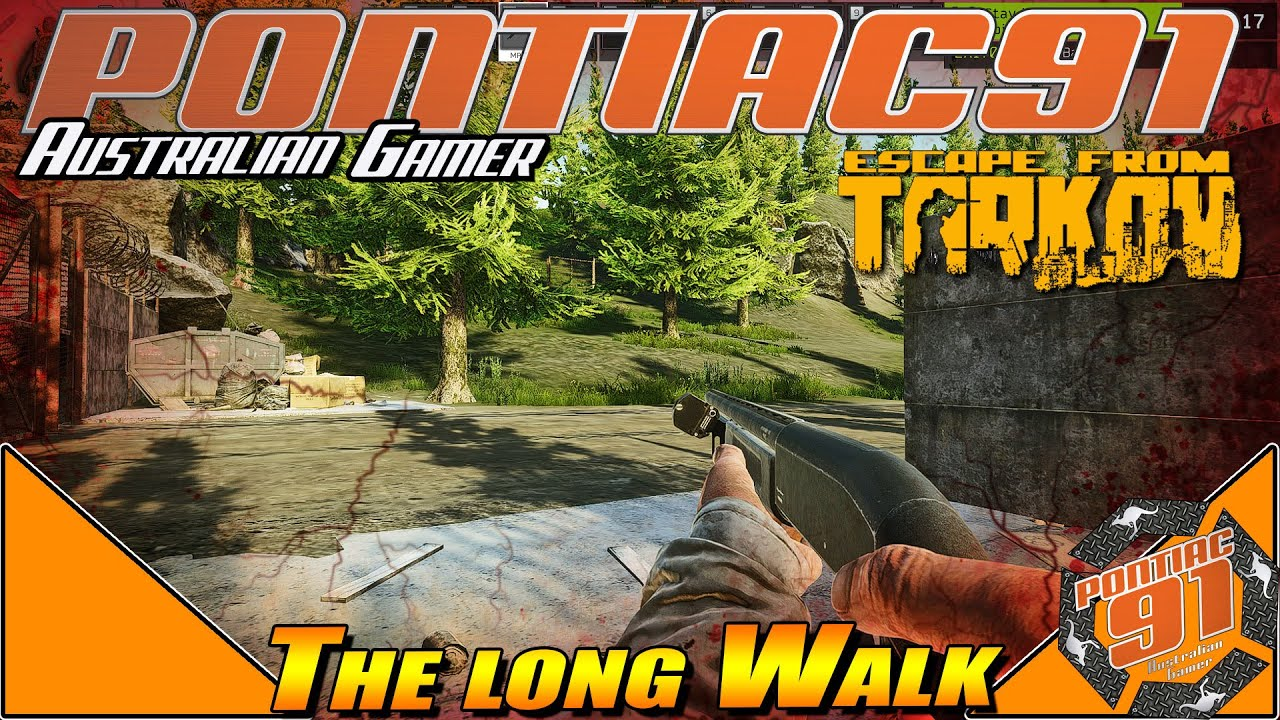 Escape from Tarkov gameplay 2020 : The long walk highlight.