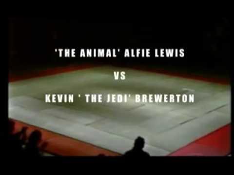 Alfie Lewis vs Kevin Brewerton Clash of the Titans