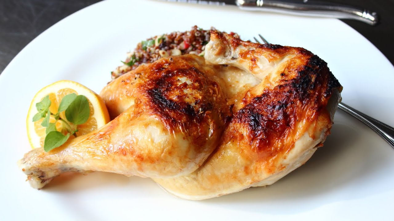 Broiled chicken how to grill chicken in the oven youtube ccuart Gallery