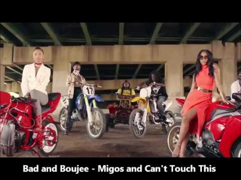 Migos  Bad and Boujee & Cant Touch This Full Version *AMAZING REMIX*