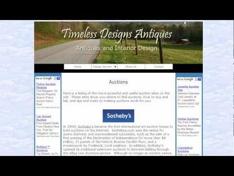 Online Antique Auctions