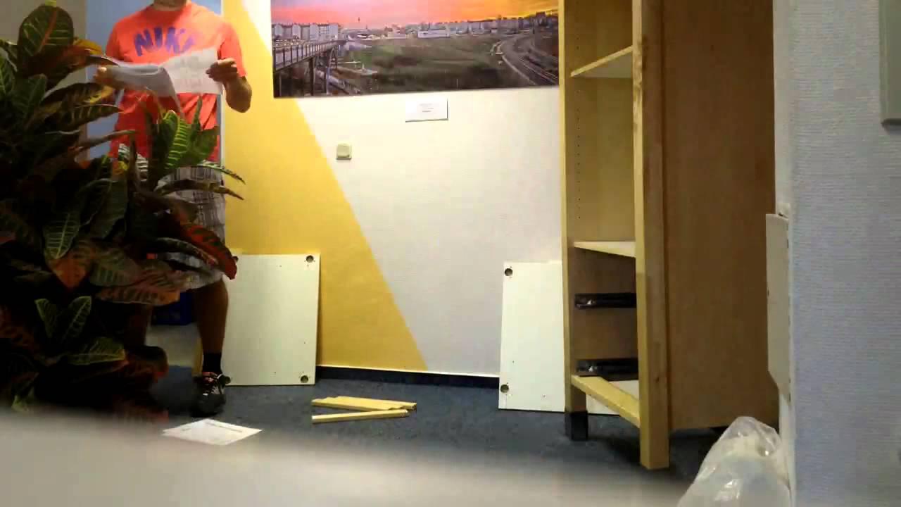 Aufbauservice Ikea ikea schrank in praxis aufbau värde