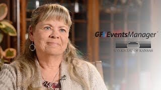 GFI EventsManager - What our customers say - Tanya Gill, Bankwest of Kansas