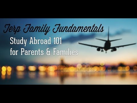 Study Abroad 101 for Parents & Families
