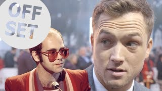 'I'm sure he'll help me': Taron Egerton wants some tips from Elton John for biopic