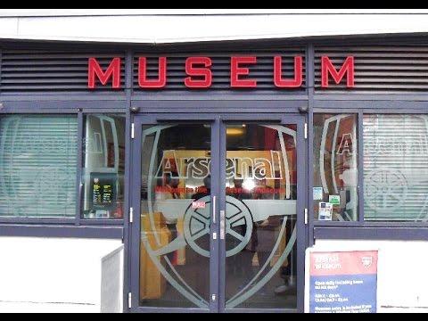 ARSENAL MUSEUM TOUR 2015 /2016  Emirates Stadium London