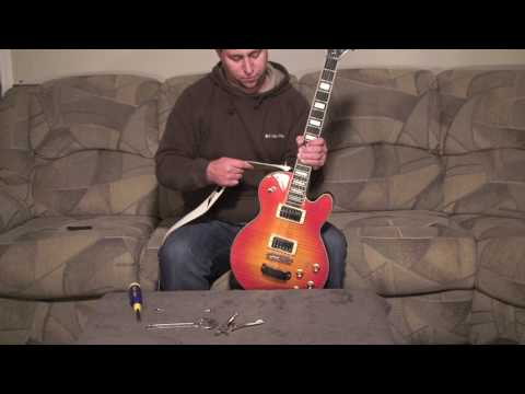 How To Install Guitar Strap Locks Play Guitar