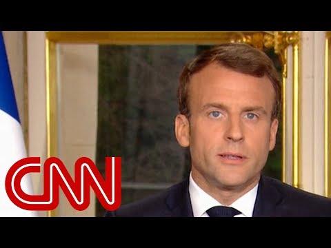 Emmanuel Macron: We will make Notre Dame even more beautiful