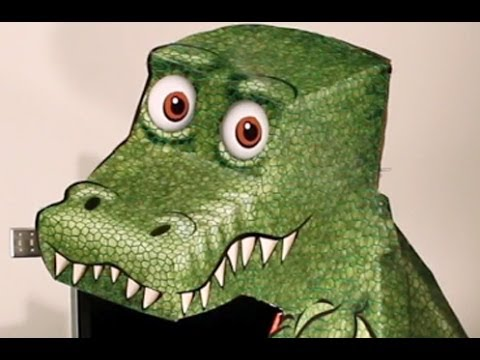 Amazing t rex illusion youtube for Animated optical illusions template