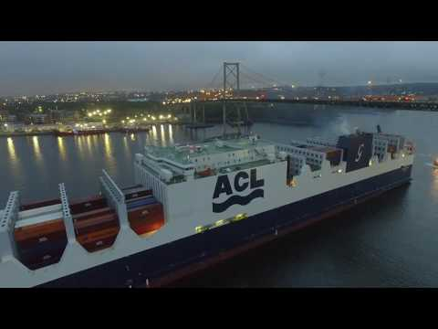 DJI Phantom 3 Video - ATLANTIC SUN - Maiden Voyage - Halifax, NS (Sept 8, 2017)