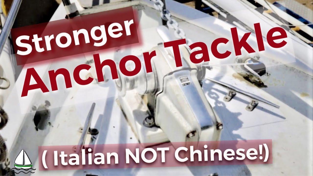 Don't Buy New Anchor Chain CHEAP! (+ Chain, Windlass, Anchor Chain Locker) Patrick Childress #50