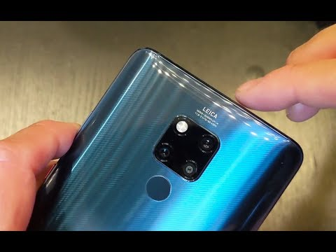 Huawei Mate 20 X unboxing