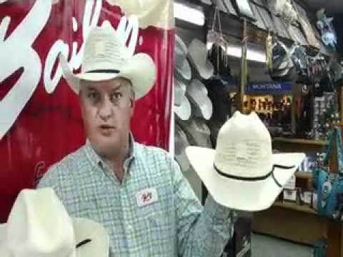 DiscountWesternWear.Com Bailey Desert Breeze Straw Hat - YouTube 8e7bf50aee05