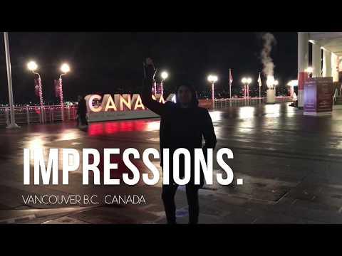 IMPRESSIONS.  A muay thai travel vlog.  VANCOUVER B.C. Canada.