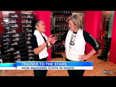 Madonna's Personal Trainer Reveals Stars Workout Video