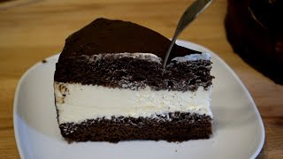 Простой Шоколадный торт Вкуснейший и сочный домашний торт Необычно и Очень Вкусно