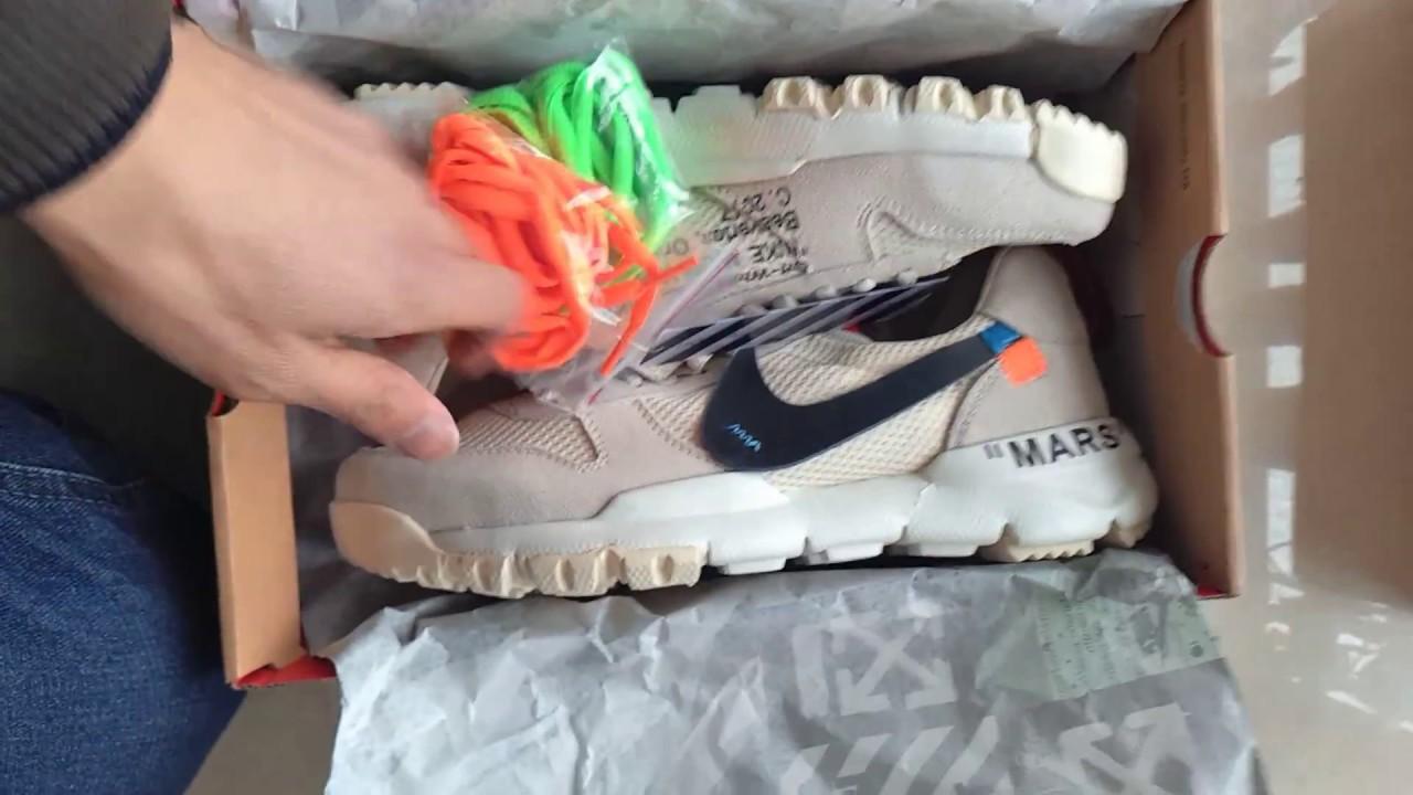 OFF White x Tom Sachs x NikeCraft Mars