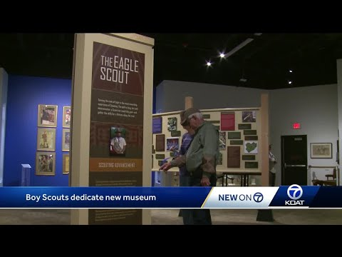 Museum signals new beginning for Boy Scouts after wildfire