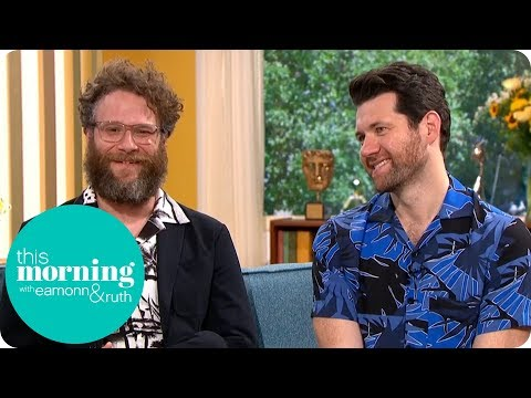 Seth Rogen & Billy Eichner on Singing With Beyoncé in the Lion King  This Morning