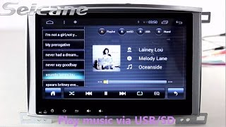 OEM 1999 2003 Toyota Land Crusier 100 dvd bluetooth gps navigation android 4 2 radio with DVR