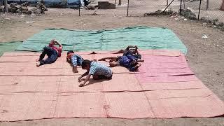 Nagin Music Comedy Dance By Village Boys At Ganesh Chaturthi