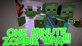 Choicecraft Factions: One Minute Zombie War