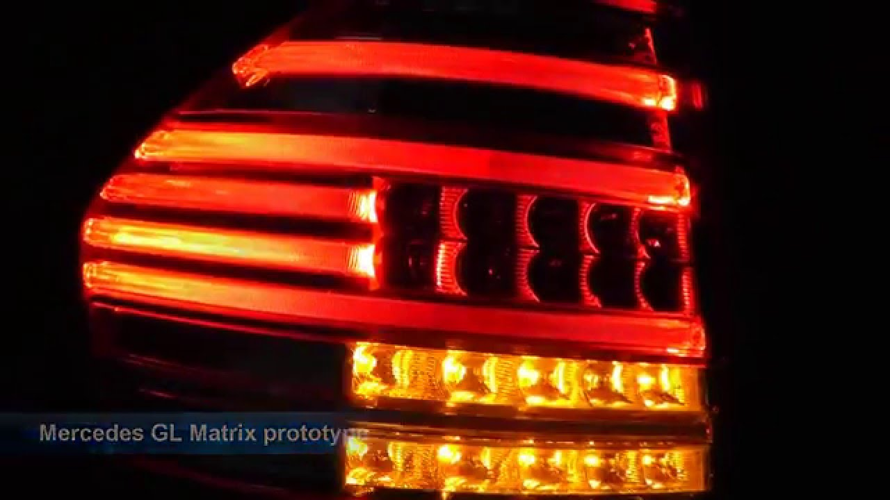 Mercedes Gl Matrix Sequence Signal Led