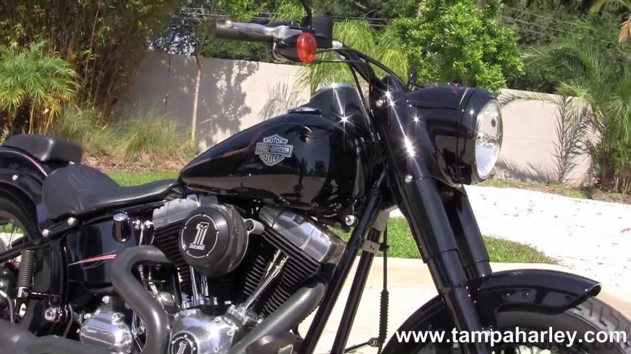 Used 2012 Harley Davidson Bikes for sale - FLS Softail Slim as seen