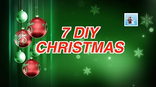 7 handicraft ideas for diy Christmas
