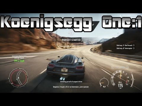 Need For Speed Rivals | Koenigsegg One: 1 | FREE DLC! Review and Gameplay HD