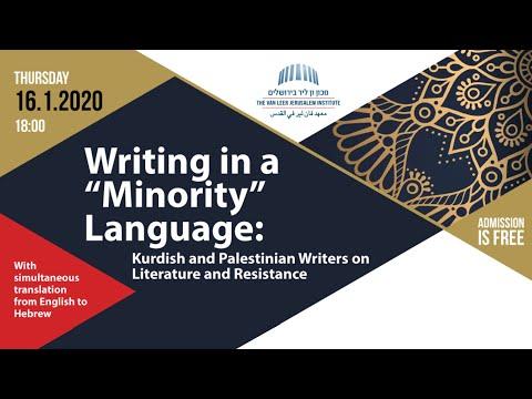 "Writing In A ""Minority"" Language"