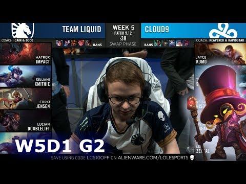 TL vs C9 | Week 5 Day 1 S9 LCS Summer 2019 | Team Liquid vs Cloud 9 W5D1
