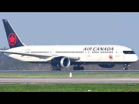 Air Canada Boeing 787-9 [C-FRTG] | Takeoff from Santiago-Pudahuel Airport (SCL/SCEL)