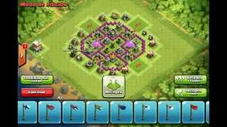 Clash of Clans - TH6 Farming Base, Effective Traps, Anti Dragon, Balloon, Giants
