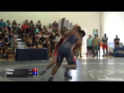 75 kg, Dillon Cowan, Army vs Austin Craig, Navy