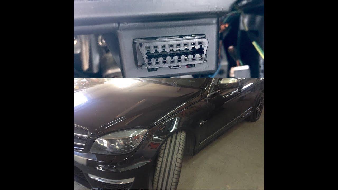 Mercedes Obd2 Port