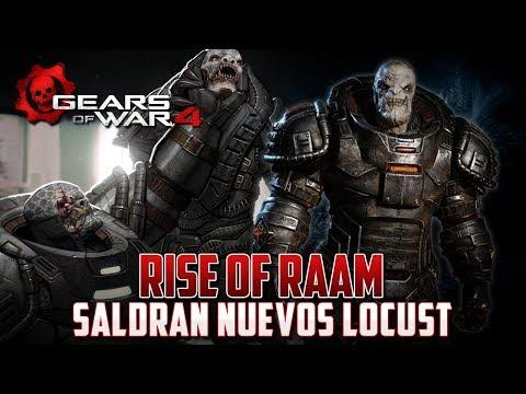 "Gears of War 4 | Rise of Raam | ""Uzil Sraak"" Nuevos Locust Exclusivos!!"