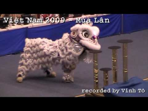 Danza del Leone - Múa Lân - Vietnam, Asian Indoor Games 2009 Travel Video