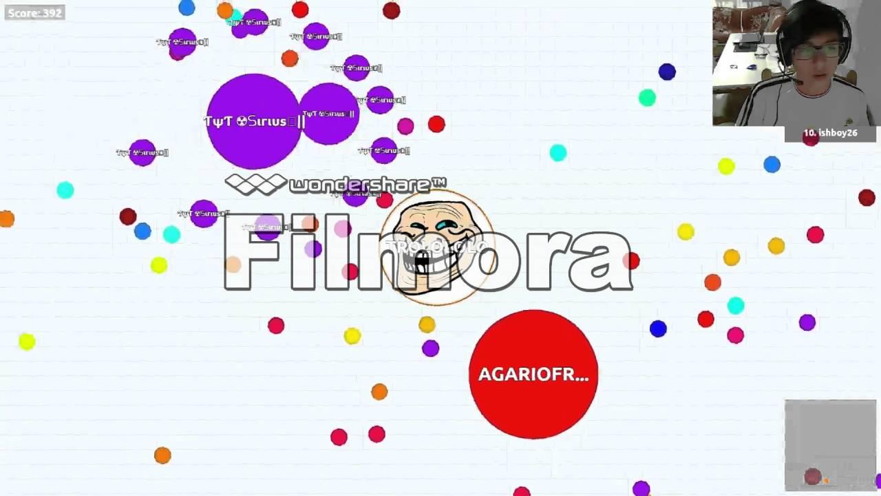 Agariofr snxzrr-tv agariofr best agar io game server ep 1 - youtube